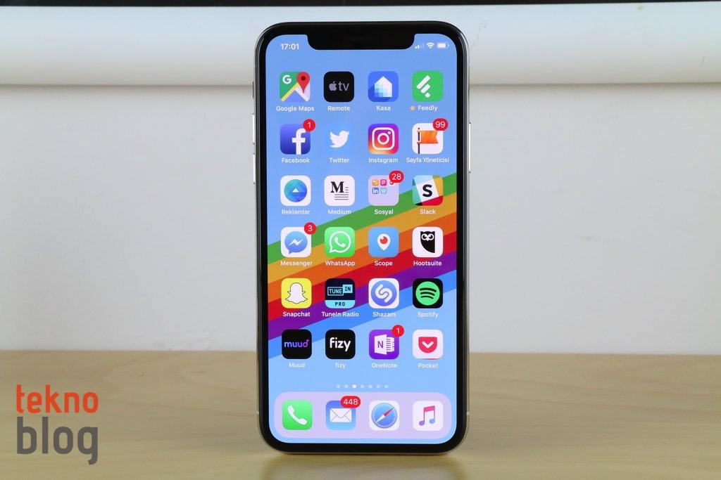 iphone x mobil uygulamalar