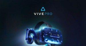 HTC Vive Pro tanıtıldı: Daha yüksek çözünürlük, yerleşik kulaklık
