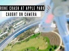 Apple Park'ın çatısına düşen drone'un görüntülerini izleyin – Video