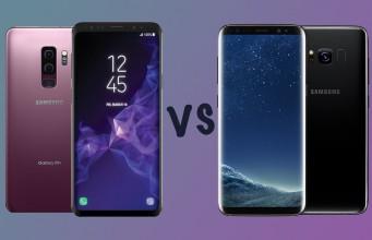 Samsung Galaxy S9+ ve Galaxy S8+ karşı karşıya