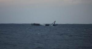 SpaceX'in Falcon 9 roketi Atlas Okyanusu'na inişinde hayatta kalmayı başardı
