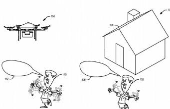 Amazon insanların hareketlerini algılayabilecek bir konsept drone geliştirdi