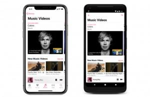 Apple Music'e video klipler için özel bölüm eklendi