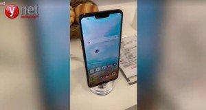 LG Mobil Dünya Kongresi'nde G7 adında bir telefon göstermiş