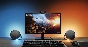 Logitech'ten oyunculara özel aydınlatmalı hoparlörler