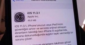 Apple iOS 11.3.1 ile birlikte orijinal olmayan ekranlardaki sorunu çözüyor