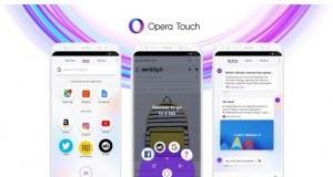 Opera Touch tek elle kullanıma odaklanan yeni mobil internet tarayıcısı