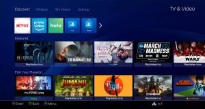PS4'ün yenilenen video bölümü programları öne çıkarıyor