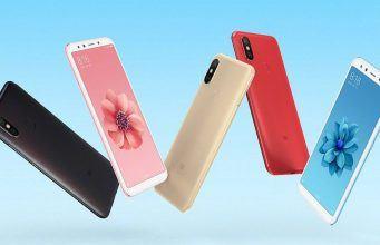 Xiaomi Mi 6X 18:9 ekran ve Snapdragon 660 ile tanıtıldı