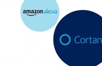 Microsoft Alexa ve Cortana entegrasyonunu gösterdi