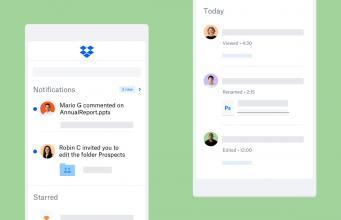 Dropbox mobil uygulamalarıyla dosya paylaşımını kolaylaştırıyor