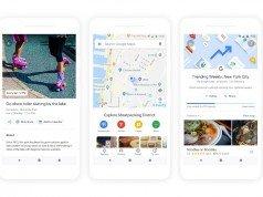 Google Haritalar'a artırılmış gerçeklikli yol tarifleri ve tavsiye özellikleri geliyor