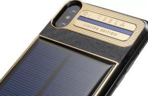 iPhone X Tesla: Caviar'dan güneş enerjili, 4 bin 555 dolarlık iPhone X