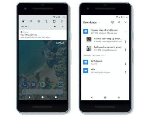 Chrome Android uygulaması Wi-Fi üzerinden çevrimdışı erişim için içerik kaydedebiliyor