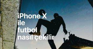 Apple'dan iPhone X ile hareketli aktivitelerin fotoğraflarını çekmek için ipuçları