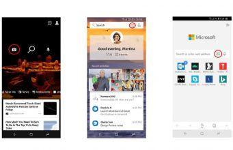 Microsoft Bing mobil uygulamaları telefon kamerasıyla arama yapabilecek