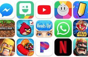 App Store'da tüm zamanların en popüler iPhone uygulamaları