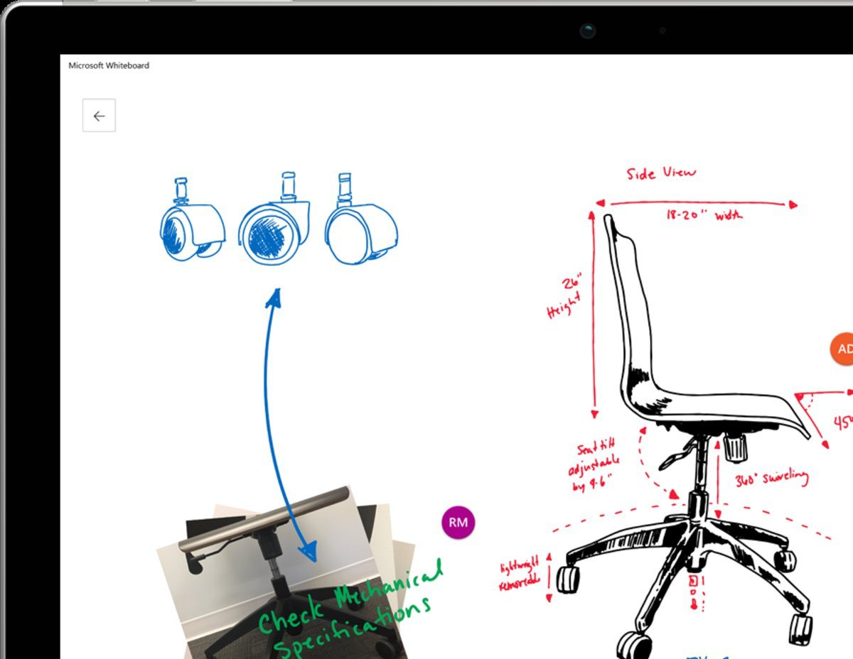 Microsoft Whiteboard Windows 10, iOS ve web için çıkıyor