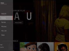 Netflix TV arayüzüne yeni bir kenar çubuğu ekledi, filmler ve dizileri böldü