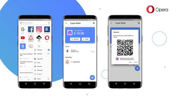 Opera internet tarayıcısına kripto cüzdan geliyor – Video