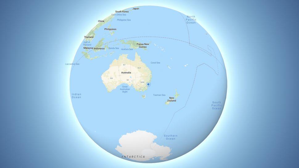 google haritalar üç boyutlu dünya