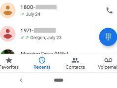 Google Telefon ve Kişiler uygulamalarını Material Design ile yeniledi