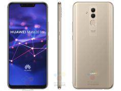 Huawei Mate 20 Lite fotoğrafları çentikli ekranı gösteriyor
