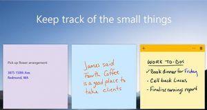 Microsoft Sticky Notes uygulamasını iOS ve Android'e getiriyor
