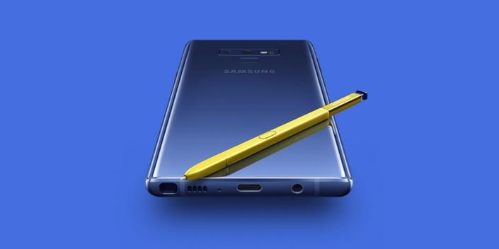 Samsung Galaxy Note 9 tanıtıldı: 6.4 inç ekran, yenilenmiş S Pen ve dahası
