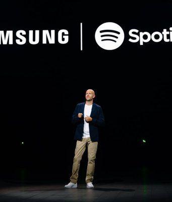 Samsung Spotify ile uzun soluklu ve kapsamlı bir işbirliğine gidiyor