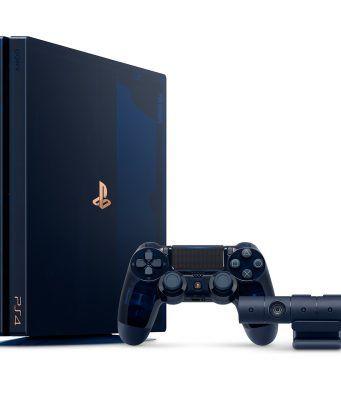 Sony 500 milyon PlayStation satışını 2 TB kapasiteli PS4 Pro ile kutluyor