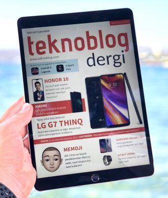 Teknoblog Dergi Ağustos 2018 sayısı yayında