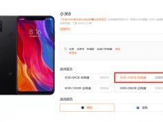 Xiaomi Mi 8 seçeneklerinin arasına 8 GB RAM'e sahip versiyon eklendi