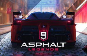Asphalt 9: Legends yüksek hız ve heyecanı parmakların ucuna taşıyor