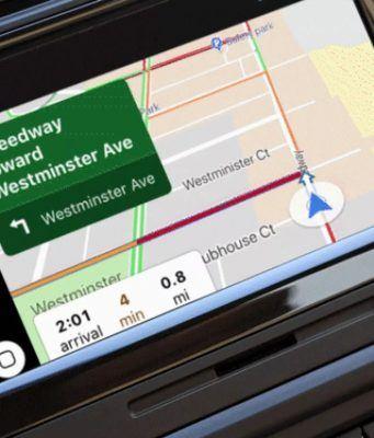 Google Haritalar iOS 12 ile birlikte CarPlay'e geldi