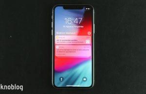 iOS 12: Bildirimler kilit ekranı üzerinde nasıl düzenlenir?