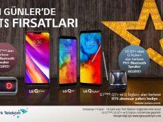 LG ve Türk Telekom'dan G7 ThinQ, Q7+ ve Q Stylus+ kampanyası