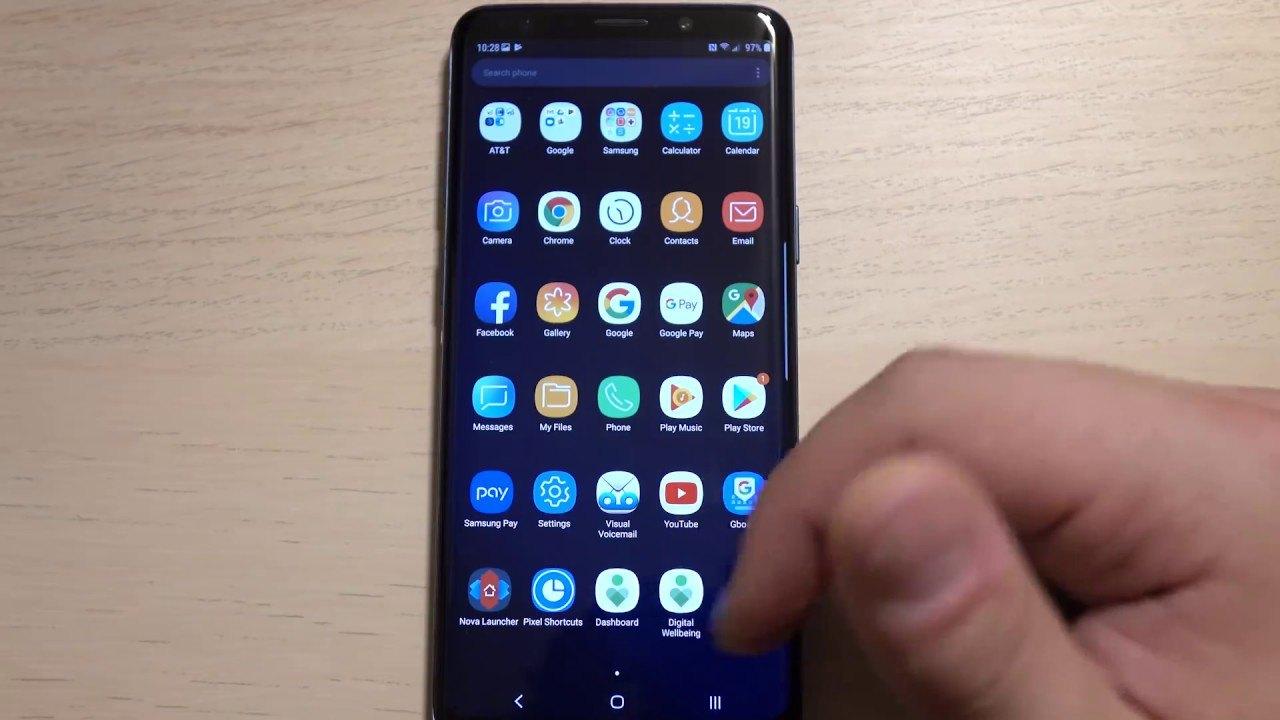 Galaxy S9'da Android 9 Pie tabanlı Samsung Experience 10 görüldü – Video