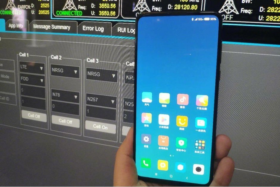Xiaomi Mi Mix 3 fotoğrafı 5G desteğini doğruluyor
