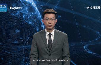 Xinhua haber sunması için yapay zekâlı bir spiker geliştirdi