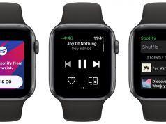 Spotify Apple Watch uygulaması kullanıcılarla buluşmaya başladı