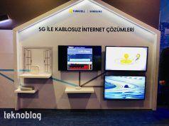 Turkcell ve Samsung'dan Türkiye'nin ilk canlı 5G deneyimi