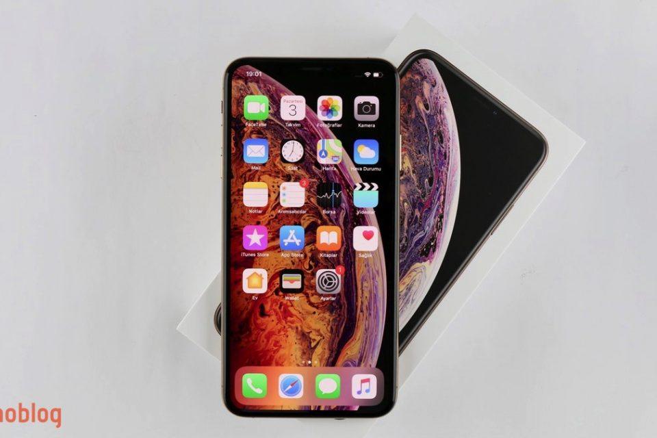 iphone xs max kutu açılımı