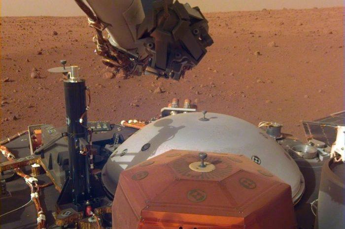 Mars'tan kaydedilen ilk sesleri dinleyin