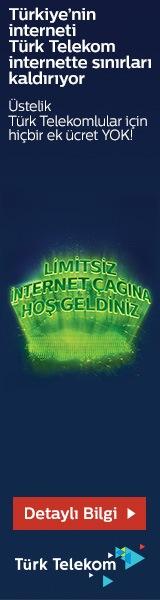 Türk Telekom Limitsiz İnternet Çağına Hoş Geldiniz